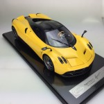 Pagani Huayra Track Pack Yellow - Limited 10 pcs (Scale 1/12) by Peako